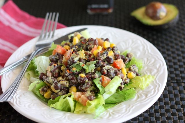 black bean salads