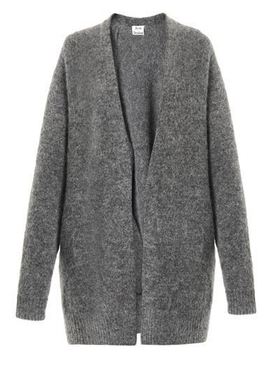Shop now: Acne Studios mohair-blend cardigan