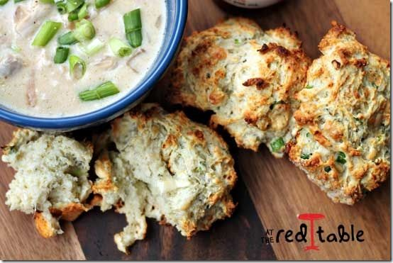 Blue cheese & scallion drop biscuits | There shall be bread | Pintere ...