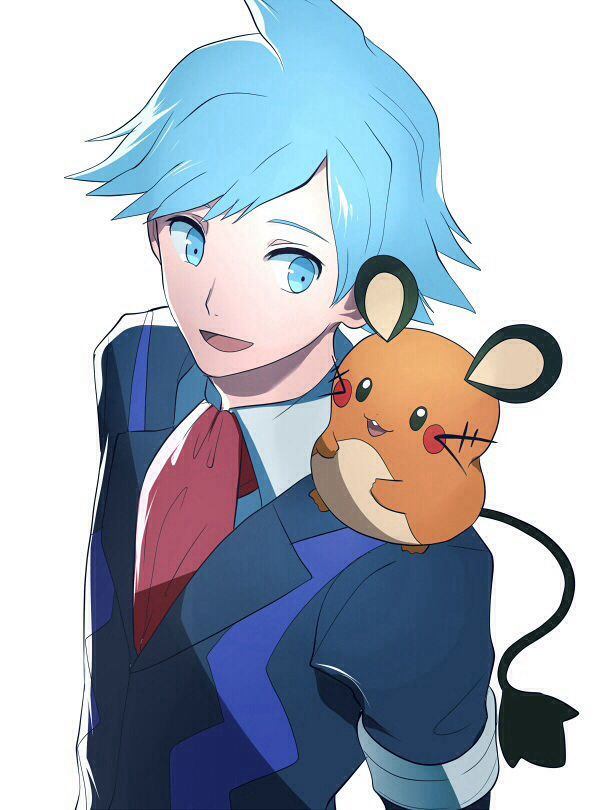 Pokemon Steven And Riley Steven and dedenne   P...