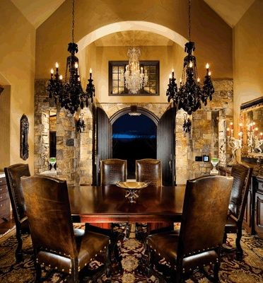 Old World Dining My Virtual Home Pinterest