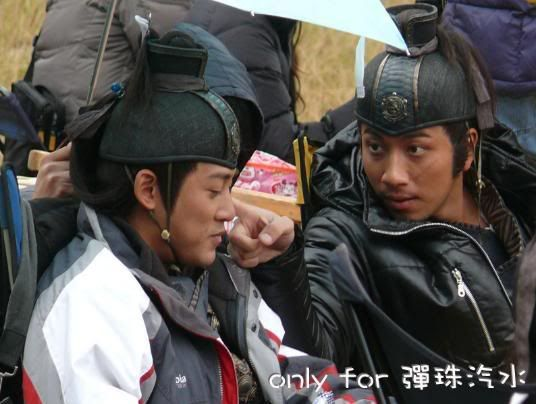 Raymond lam amp ron ng the four 2008 behind the scene