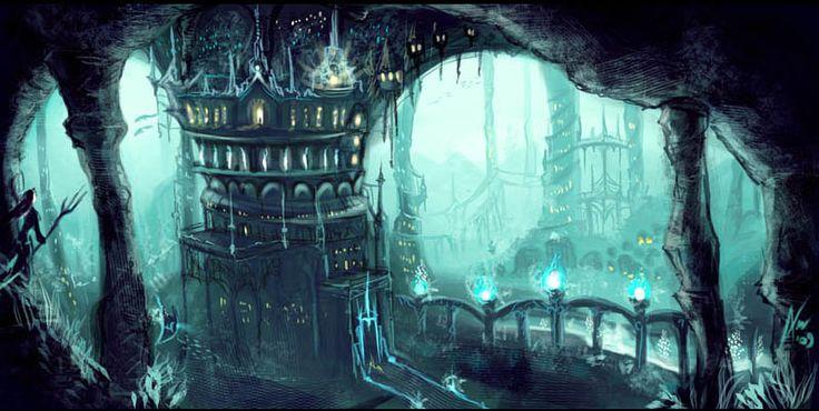 An underwater castle | Submarino - UnderWater | Pinterest