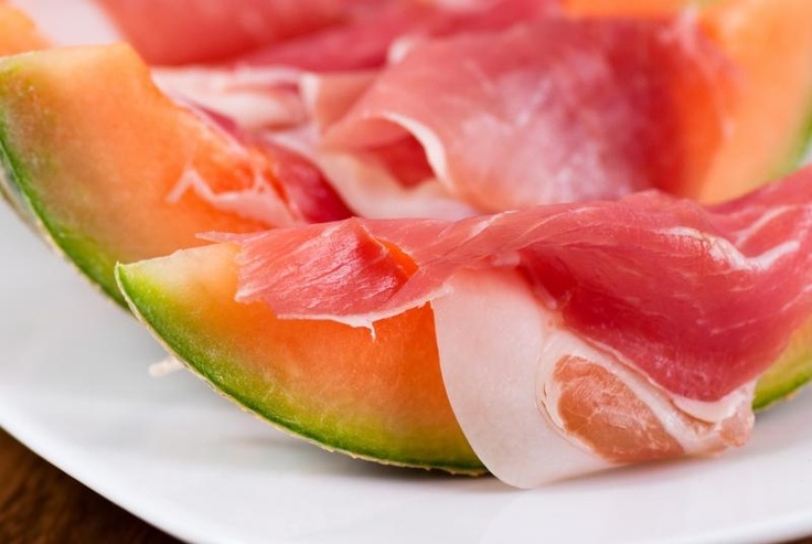 Parma ham and melon | Yum Scrum. | Pinterest