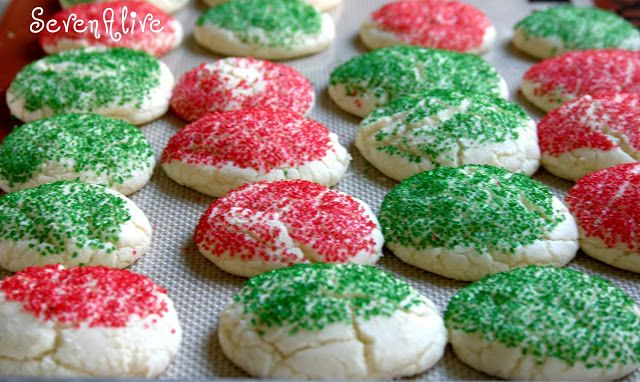 7Alive all Livin' in a Double Wide: Cake Mix Cookies *Holiday Edition*