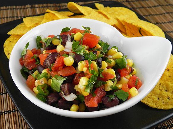 Black Bean & Corn Salsa | Food - Healthy Bellies | Pinterest