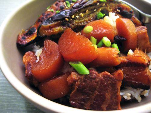 Japanese Braised Pork Belly   Recipes   Pinterest