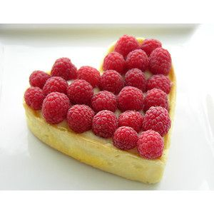 Lemon Raspberry heart | Cakes and Candy | Pinterest
