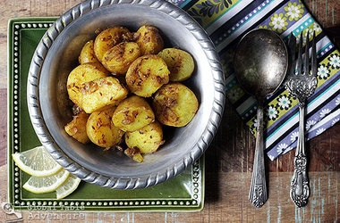 Cumin Seed Potatoes (Batata b'kamun) | POTAHTOES | Pinterest