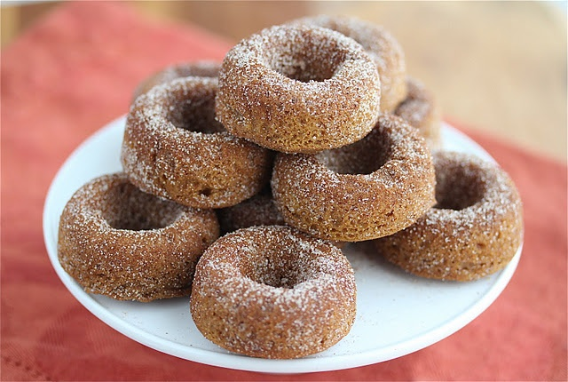 Gluten Free Pumpkin Spice Donuts...do you think they taste like the ...