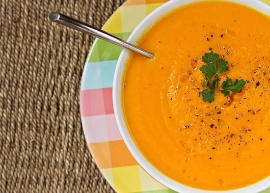 Carrot Apple Ginger Soup | Soups, Salads and Sandwiches | Pinterest