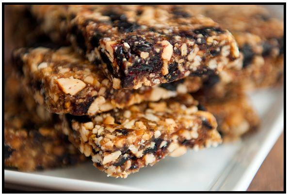 Homemade Blueberry Muffin Larabar | Grain Free Sugar Free | Pinterest