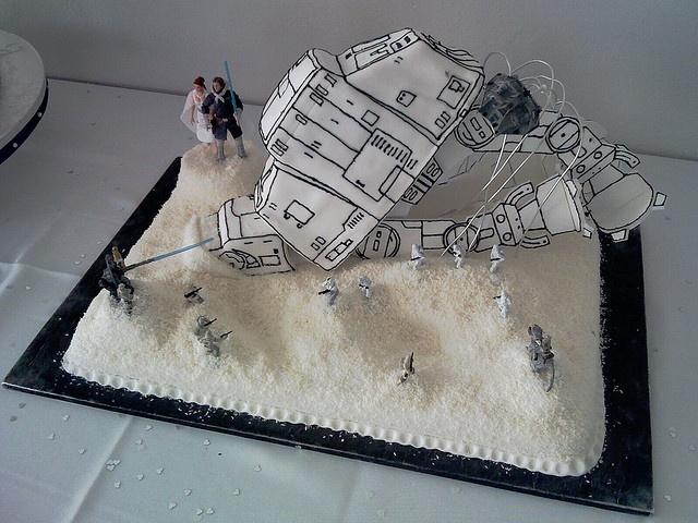 star wars wedding cake things that make me smile. Black Bedroom Furniture Sets. Home Design Ideas