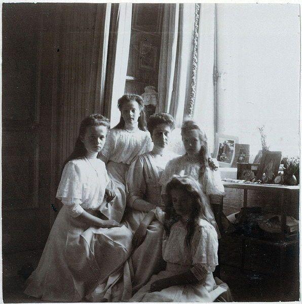 Olga, Tatiana, Alexandra, Anastasia, Marie Romanov