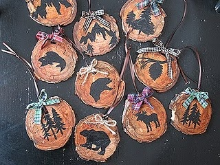 wood ornaments making these this year.