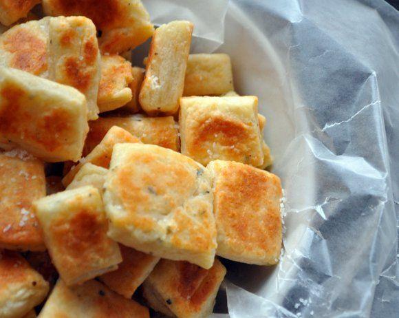Parmesan Crackers | food | Pinterest