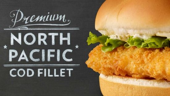 2013 cod sandwich wendy 39 s marketing pinterest for Wendy s fish sandwich