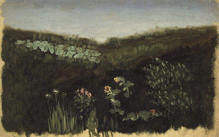 Arkhip Ivanovich Kuindzhi, Sunflowers. Crimea (1880)