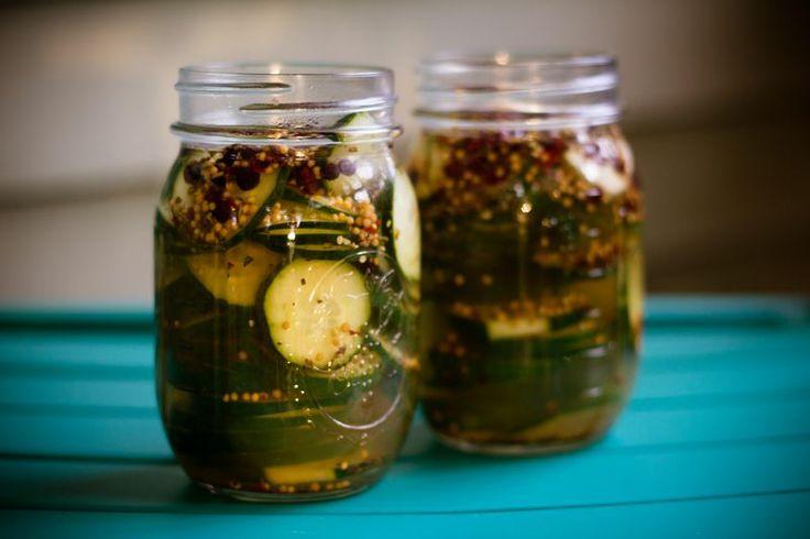 Basic Refrigerator Pickles.. Certified StirCrazy Good!
