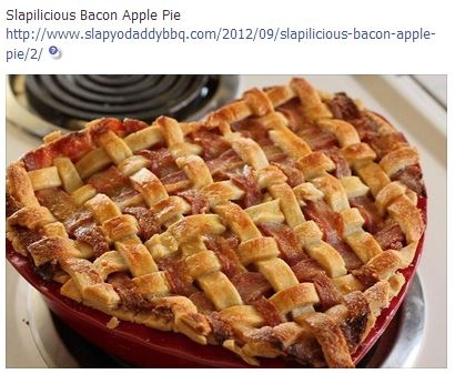 bacon apple pie   RECIPES & COOKING   Pinterest