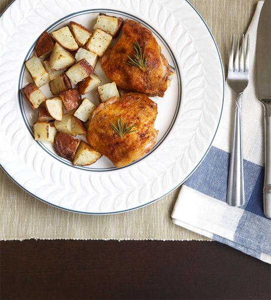 buttermilk roast chicken | Happy Place | Pinterest