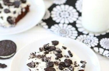 ... chocolate sheet cake cookies n cream sheet cake recipes dishmaps