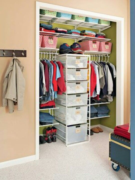Organizing Ideas For Kids Closet Organizing Spaces Tips