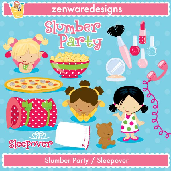 Slumber Party Invitation Ideas is great invitation layout