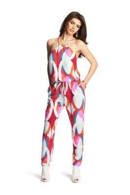 Bellini Silk Jumpsuit | GUESS by Marciano