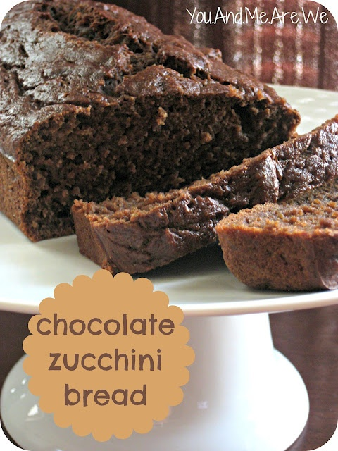 Healthy Chocolate Zucchini Bread | Desserts (cakes, candy, etc) | Pin ...