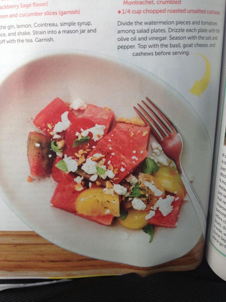 True Food Kitchen Watermelon Salad