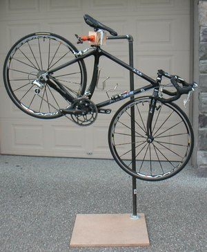 how to build a bike repair stand