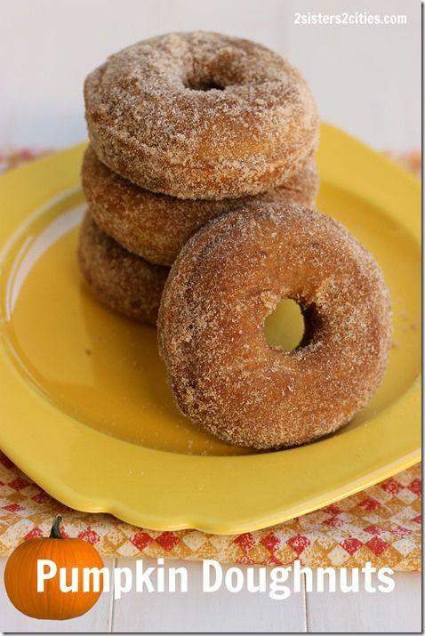 Baked Pumpkin Doughnuts | Recipe