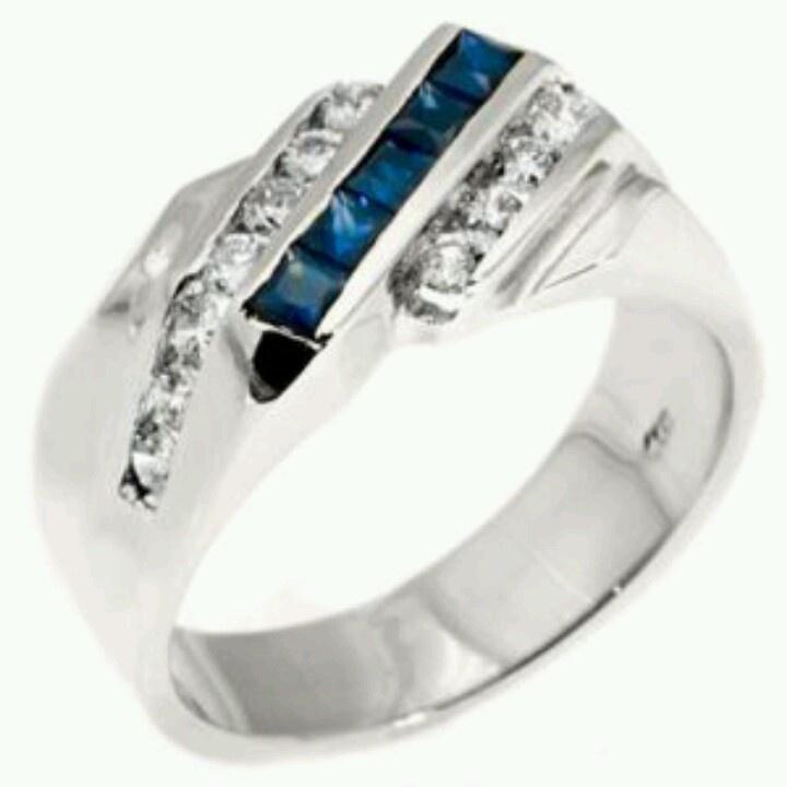 s wedding band blue sapphire my wedding