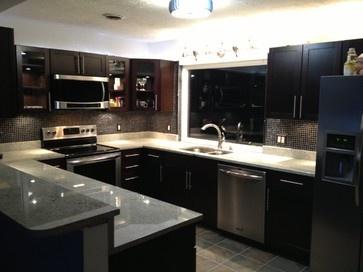 White Kitchen Granite Ideas