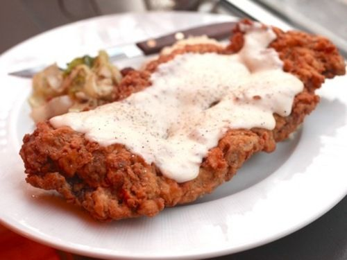 Country-Fried Beef Steak with Gravy | Moreish | Pinterest