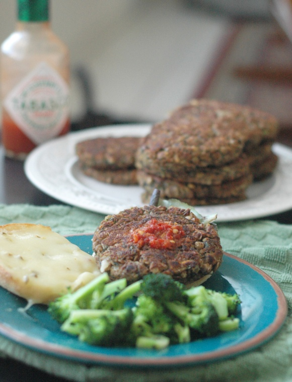 Lentil Walnut Burgers | Lentil Lovers | Pinterest