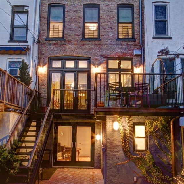Brownstone house brownstone love brownstone living for Brownstone home designs