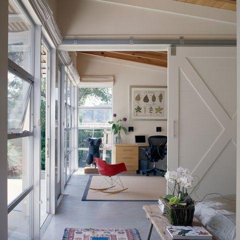 Ideas For Sliding Room Dividers : Sliding Door Room Divider idea  Bath ideas  Pinterest