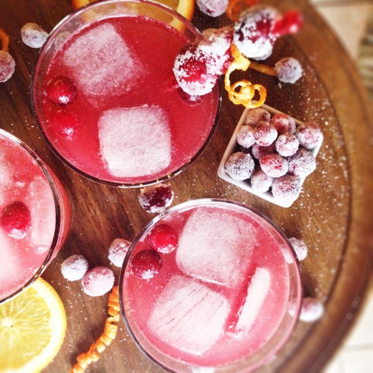 CRANBERRY VANILLA SPRITZER...tart cranberry, fresh orange, and cozy ...