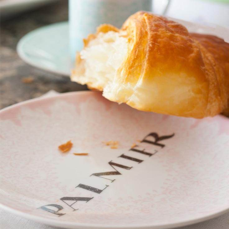 Flaky Croissant | Le Francophile | Pinterest