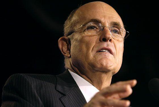 Rudy Giuliani. Respect!!!!