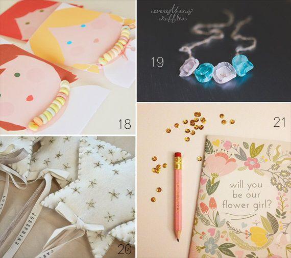 Wedding Gift Ideas For Flower Girl : flower girl gift ideas All About Wedding Pinterest
