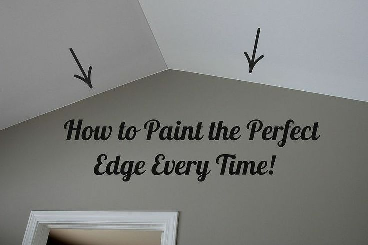 How To Paint The Perfect Edge Without Painters Tape