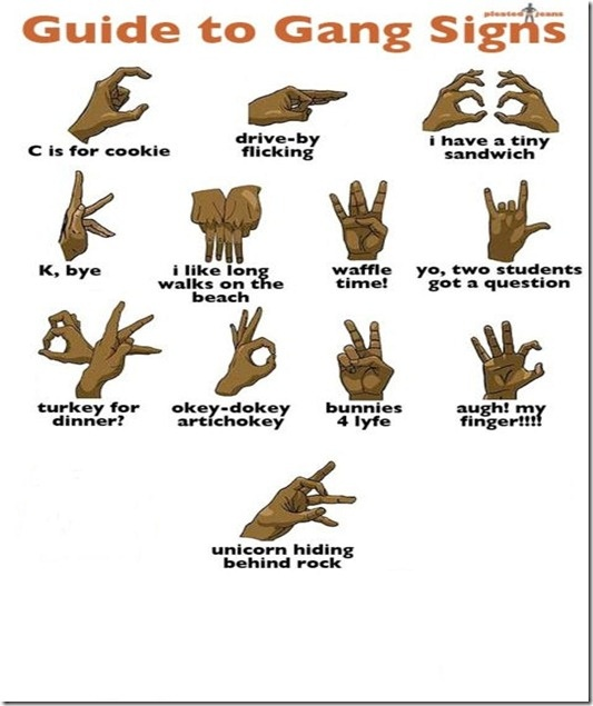 Gang Signs Guid...
