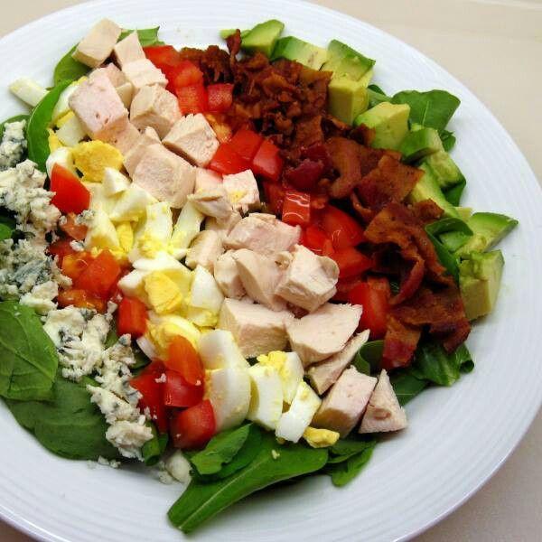 Classic Cobb Salad   All yummy salads   Pinterest