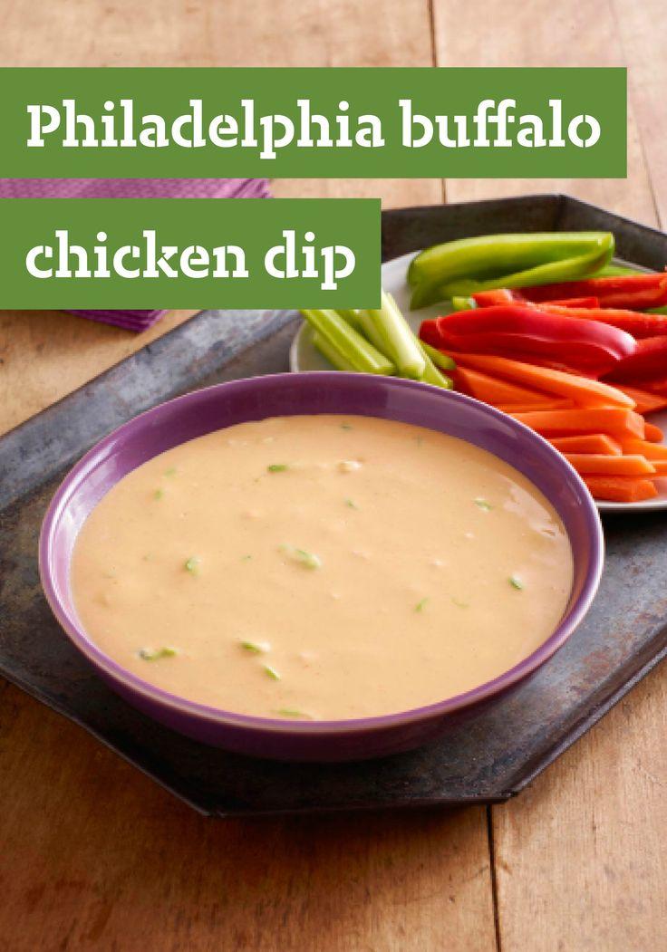 PHILADELPHIA Buffalo Chicken Dip -- Send chicken wings back to Buffalo ...