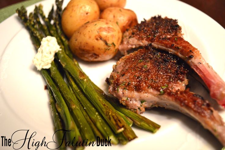 Herb Crusted Lamb Chops | Recipes | Pinterest