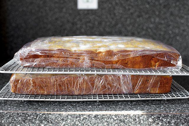 Roasted Apple Spice Sheet Cake by Smitten Kitchen