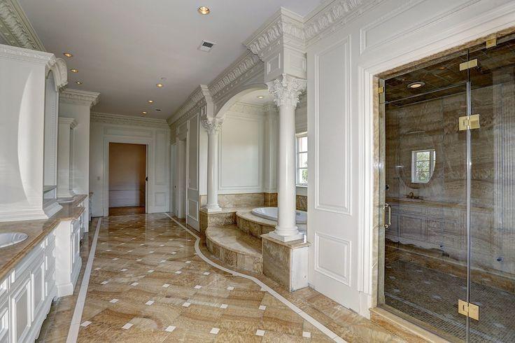 luxury master bath bathroom columns luxury dream home bathrooms p
